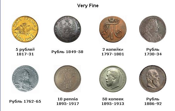 Состояния монет таблица где сдать старые монеты ссср за деньги