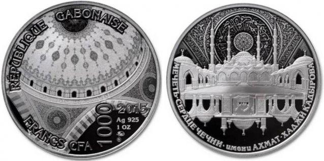 Сердце чечни монета сша 1 доллар 1992 500 летие путешествия колумба