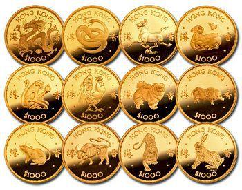 Знаки зодиака монеты китай 5 копеек 1831 года цена
