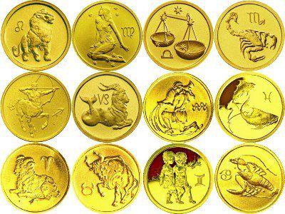 монеты россии со знаком зодиака