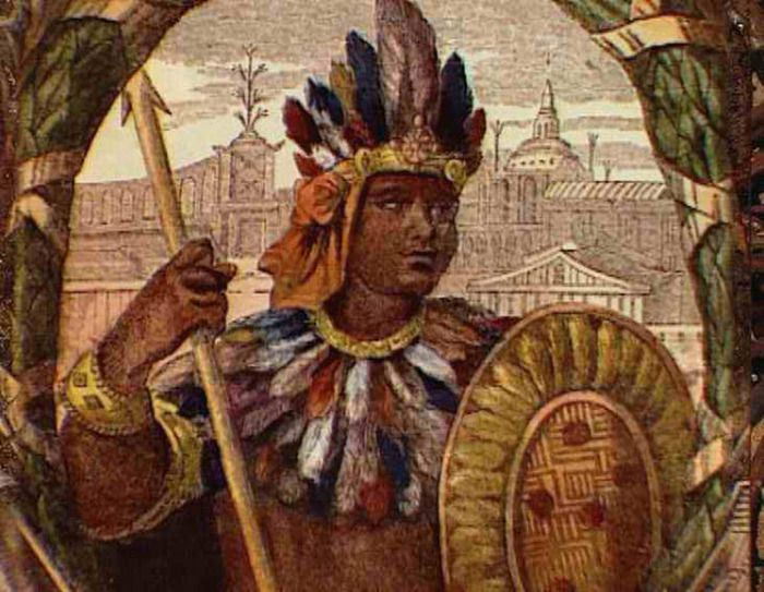 a biography of montezuma an aztec leader